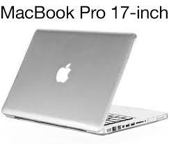 MacBook Pro 17 inch Case Model: A1297 - Crystal Clear