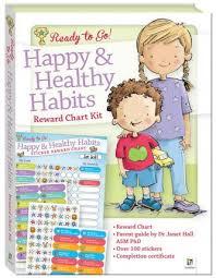 Chart On Healthy Habits Ready To Go Reward Chart Healthy Happy Habits Hinkler