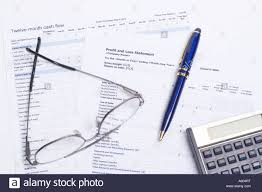 Profit Spreadsheets Cash Flow And Profit And Loss Spreadsheets With Calculator Glasses