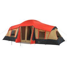 Multiple Room Tents Ozark Trail 12 Person 3 Room Instant Cabin Tent With Screen Room