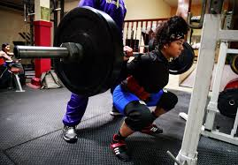 sachie dubose 17 trains at columbia city fitness center on south jackson street in