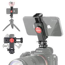 ULANZI ST-06 Camera Hot Shoe Phone Holder ... - Amazon.com