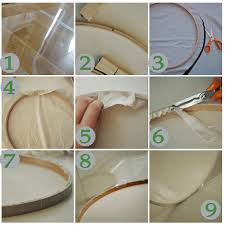 How To Make Drum Lampshade Fordelier Straight Lamp Shade White Kit