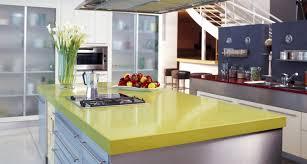 green kitchen countertops caesarstone