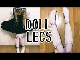 ball joint tights. creepy cute ball joint tights and harajuku fashion accessory haul ☆ spreepickey