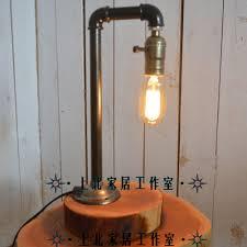 Edison Light Stand Amazon Com Sophilab Vintage Wood Table Stand Lights Retro