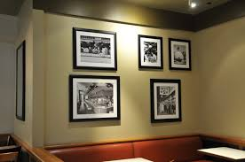 Art framing Matting Framed Art At Nordstroms Restaurant At Westside Pavilion Los Angeles Custom Frames Frameworks Fort Myers Artframingbusinessgallery Striving Artists