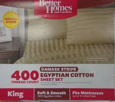 better homes and gardens sheets. Beautiful And Better Homes And Gardens Damask Stripe Egyptian Cotton Sheet Set Packaging  Refund Refund Inside And Sheets M