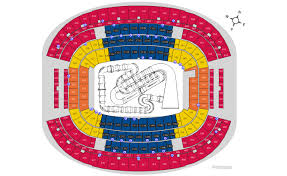 Supercross Seating Chart Seating Chart Official Ticketmaster Site