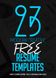 Amazing Resume Templates Free Delectable 48 Free Creative Resume Templates With Cover Letter Freebies