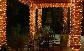 Outdoor Lighting Tips To Get You Through Fall  HGTVu0027s Decorating Christmas Lights In Backyard
