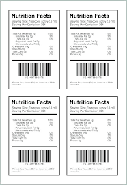 Nutrition Labels Template Nutrition Facts Template Word Best Of Label Blank Nut