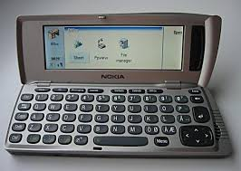 nokia keyboard phone. click image for larger version. name: nokia_9210.jpg views: 575 size: nokia keyboard phone i