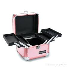 best free makeup bags large beauty cases train case rolling with lights