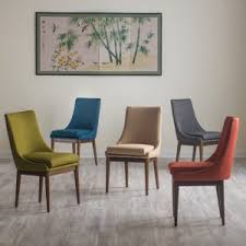 midcentury modern dining chairs. belham living carter mid century modern upholstered dining chair - set of 2 midcentury chairs t