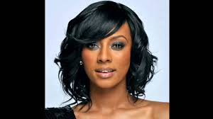 Medium Hair Style Woman medium hairstyles for african american hair youtube 8842 by wearticles.com
