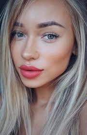simple and beautiful make up idea c lips summer makeup face makeup makeup