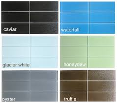 Surprising Colored Glass Subway Tile Pictures Decoration Inspiration