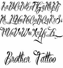 Fonts For Tattoos Best Free Tattoo Fonts Tattoo Designs Ideas For Man And Woman