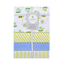 Carter's 4 Pack Flannel Frog Print - Triboro Quilt Co. - Babies
