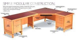 diy corner desk plans modular desk system diy small corner desk plans