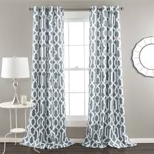modern patterned curtains