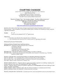 Charting Changes Lesson Plans Arkansas Studies Research