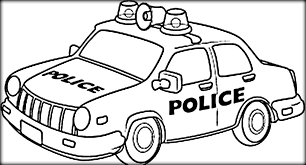 Police Car Coloring Pages Printable At Getdrawingscom Free For