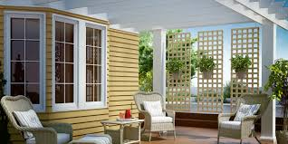 Image of: Style Wood Lattice Panels