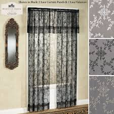 Lace Window Treatments Downton Abbey Yorkshire Lace Window Treatment