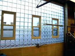 cost to install glass block windows in basement glass block window cost glass block basement windows