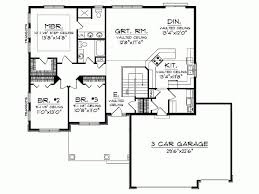 one level open floor house plans best of house plans open concept ranch homes floor plans