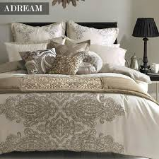 whole adream polyester cotton bedding set duvet cover set european style comforter cover quilt cover 4 queen king size duvet covers for twin beds