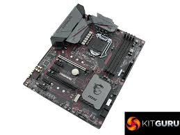 Z270 Motherboard Comparison Chart Msi Z270 Gaming M3 Motherboard Review Kitguru