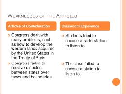 the articles of confederation weaknesses essay checker essay   article of confederation weaknesses essay be cox report 1989 full text uk