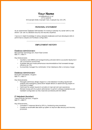Ideas Of Resume Example Profile 8 Resume Personal Summary Quit Job