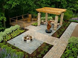 Simple Patio Designs With Pavers Browse More Pictures Of Paver Patios Wheelchair Smooth On Modern Ideas