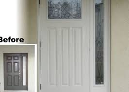 replace front doorDoor  Replacement Door Sidelights Helping Exterior Wood Entry
