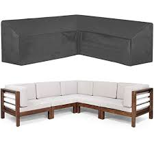 100 inch patio v shaped sectional sofa