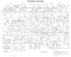 realistic trc 454 schematic diagram