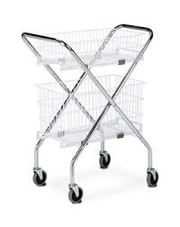 Wire Basket Carts Folding Specimen Transport In 2019