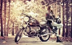 47+] Motorcycle Girl Wallpaper on ...