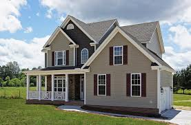 farmhouse style front doorsCountry Farmhouse Front Porch  Holly Springs Home Builders