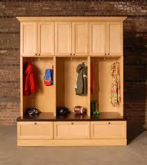 custom diy mudroom cubby design with locker hooks and drawer shoe rack storage under bench seat ideas