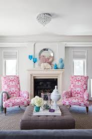 Traditional Accent Chairs Living Room Traditional Home With Colorful Glamorous Living Spaces Emily