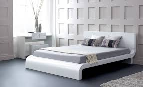 roma  modern white bedroom set