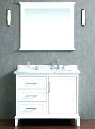 offset sink vanity bathroom vanity with right offset sink offset bathroom sink bathroom vanity white right