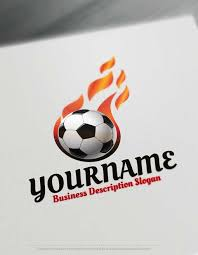 Soccer Logo Maker Free Logo Maker Soccer Football Logo Design Template