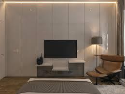 Bedroom Designs: Unique Folded Wall Paneling - Bedroom