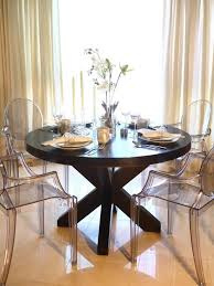 round dining table decor fine dining best 25 round wood dining table ideas on